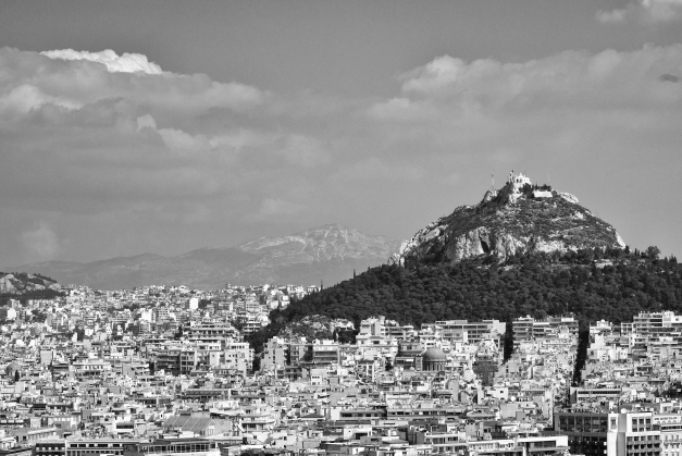 Mt. Lycabettos From The Acropolis-2